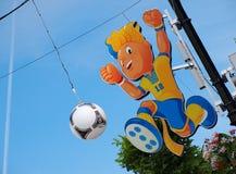 талисман евро 2012 Стоковые Фото
