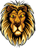 талисман логоса льва Стоковые Фото