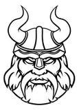 Талисман характера спорт Викинга ратника Стоковые Изображения