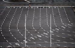 таможни зоны терминальные Стоковая Фотография