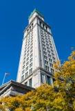 Таможня Бостона в финансовом районе, Бостоне, Массачусетсе стоковое изображение rf