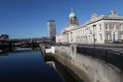 Таможня в Дублине стоковое фото rf