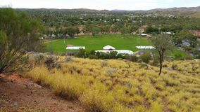 Тангаж рэгби Alice Springs Стоковая Фотография RF