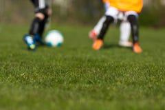 Тангаж футбола стоковое фото rf