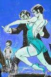 Танго искусства улицы Стоковые Фото