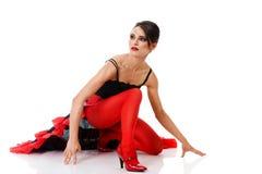 танго танцора Стоковое фото RF