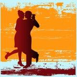 танго grunge Стоковое Изображение