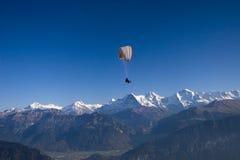 тандем paragliding Стоковая Фотография