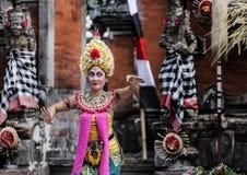 Танец Бали Barong, Индонезия стоковое изображение