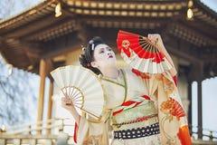 Танец вентилятора Стоковая Фотография RF