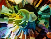 Танец внутренней краски Стоковые Фото