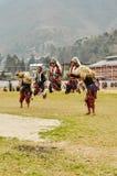 Танец в Arunachal Pradesh Стоковые Изображения RF