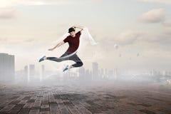 Танец его мир Мультимедиа стоковое изображение