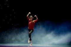 Танец кривой диаграмм-современный Стоковая Фотография