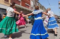 Танец круга Atgentine Стоковые Фото