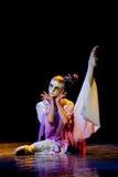 Танец маски--Китайский народный танец Стоковые Фото