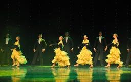 Танец мира Австрии качания- петь Стоковая Фотография RF