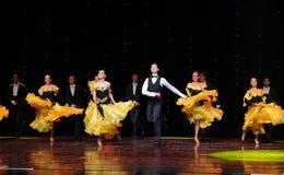 Танец мира Австрии качания- петь Стоковое фото RF