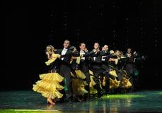 Танец мира Австрии качания- петь Стоковые Фото