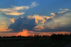 танец облака Стоковые Изображения RF