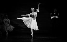 Танец пальца ноги стоковое изображение rf
