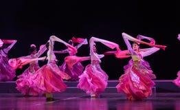 """Танец пиона - павильон пиона--мечты opera""""four Цзянси  linchuan†Стоковая Фотография"""