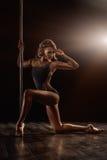 Танец поляка Стоковая Фотография RF