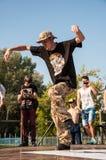 Танец пролома художника Стоковая Фотография RF