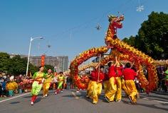 Танец дракона Стоковая Фотография RF