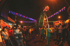 Танец дракона Стоковое Фото
