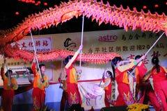 Танец дракона Стоковые Изображения