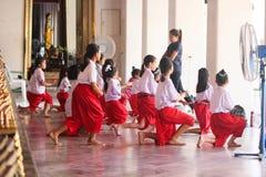 Танец Таиланд Стоковое фото RF