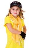 Танец: Танцор хмеля маленькой девочки тазобедренный стоковое изображение