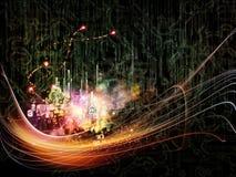 Танец технологии Стоковое Изображение