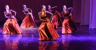 Танец фламенко Стоковые Изображения