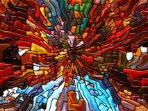 Танец цветного стекла Стоковые Фотографии RF