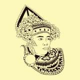 Танец человека балийский Стоковые Фото