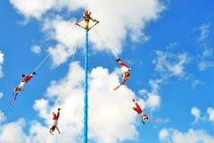 Танец людей летания Стоковые Изображения RF