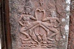 Танец Apsara Стоковые Изображения RF