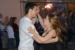 Танец Bachata Стоковое Фото