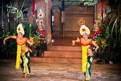 Танец Barong Бали Стоковые Фотографии RF