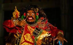 Танец Barong, танец льва стоковое фото rf