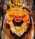 Танец Barong, танец льва стоковое изображение
