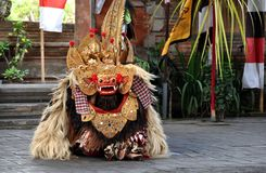 Танец Barong на Бали стоковая фотография rf