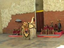 Танец Barong стоковые изображения