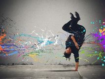 Танец Capoeira стоковое изображение rf