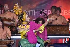 Танец Gamelan Timang Burung Стоковые Фото