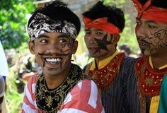 Танец Jathilan Стоковая Фотография