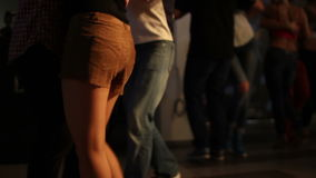 Танец Kizomba на темноте акции видеоматериалы
