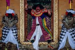 Танец Ramayana в Ubud, Бали, Индонезии стоковое фото rf